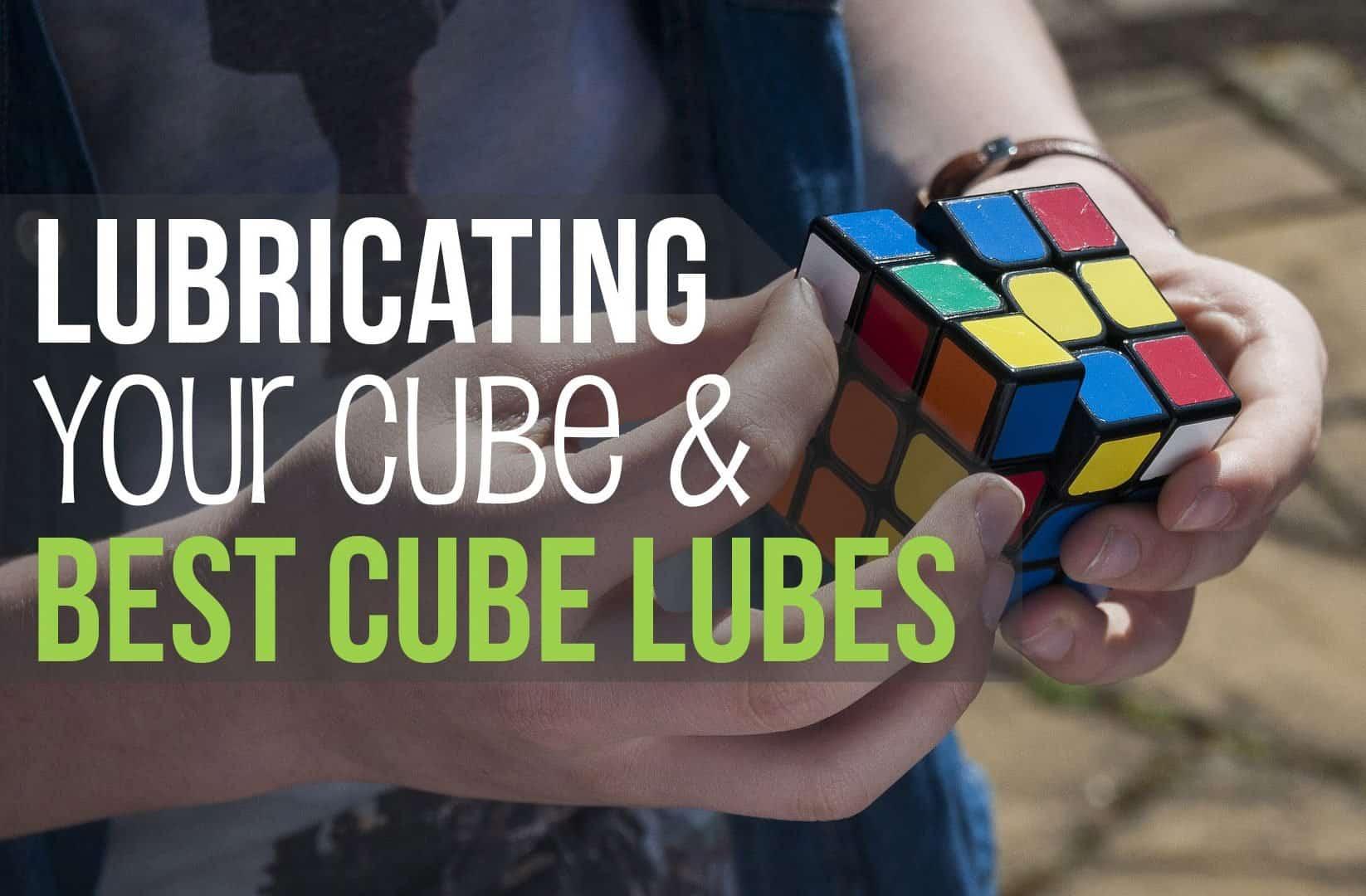 Lubricating speedcube