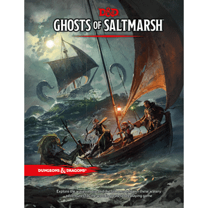image of Ghosts of Saltmarsh book cover