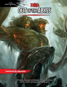 image of out of the abyss book cover