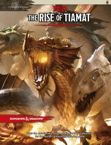 image of the Rise of Tiamat book cover