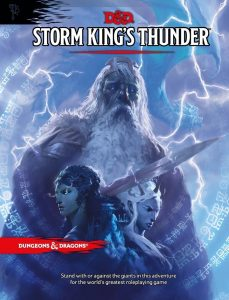 image of Storm Kings Thunder book cover
