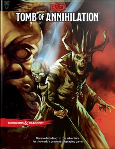 image of Tomb of Annihilation book cover
