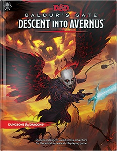 image of the book cover Baldurs Gate Descent into Avernus