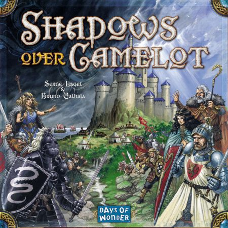 image of the box cover for shadows over camelot