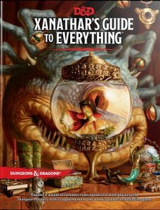 image of the Xanathar's Guide to Everything