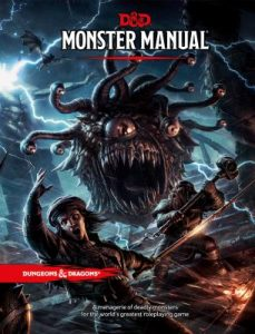 image of the D&D monster manual