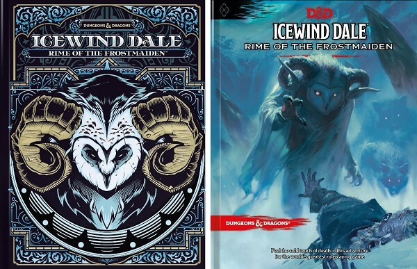 image of the icewind dale rime of the frostmaiden book cover