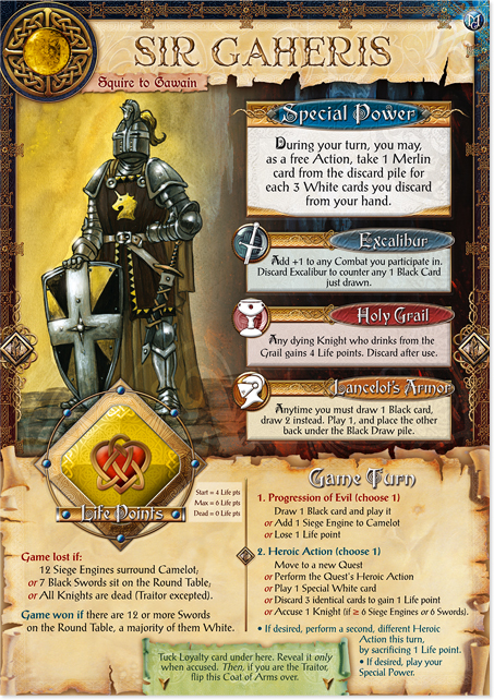 image of the Sir Gaheris Knight