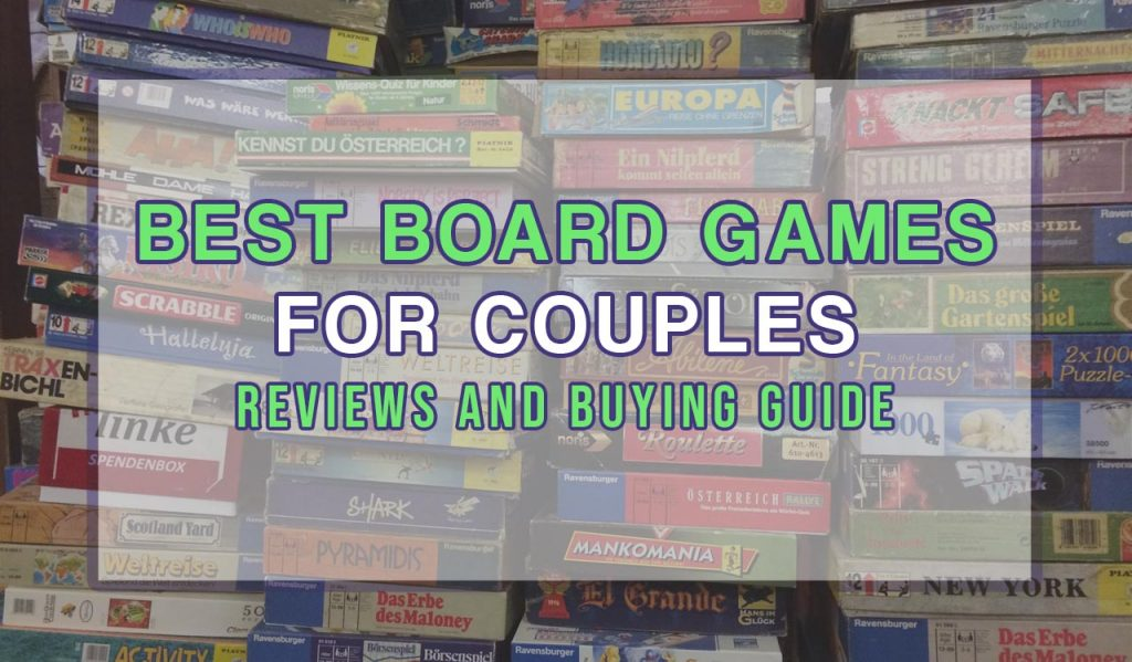 Feature image for best board games for couples article