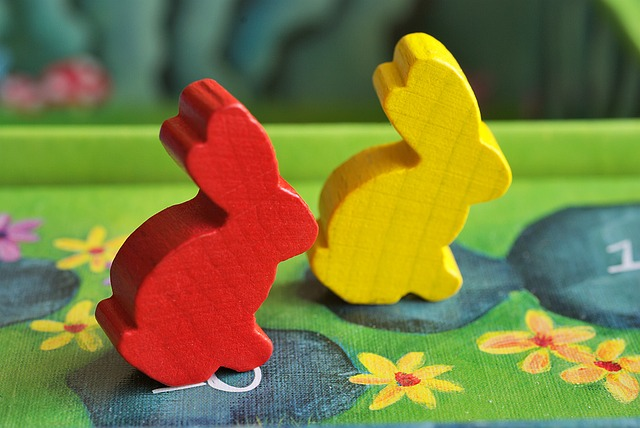 image of couple board games figurines