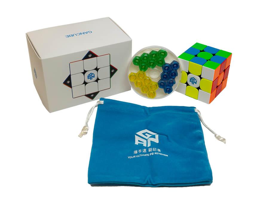 Gans 354 M V2 Speed Cube Stickerless 3x3 Gan354 Magnetic Puzzle Speedcube