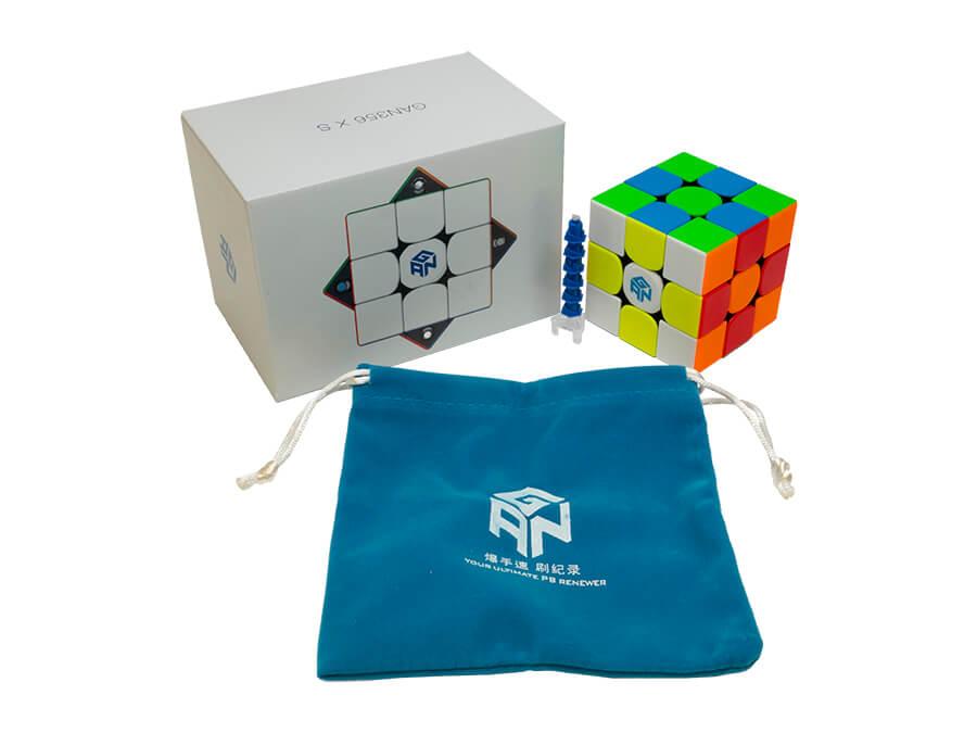 GAN 356 XS 3x3 Speed Cube Stickerless Gans 356XS 3x3x3 Magnetic