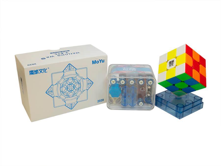 MoYu Weilong WR M 2020 stickerless 3x3 Speed Cube Weilong WRM